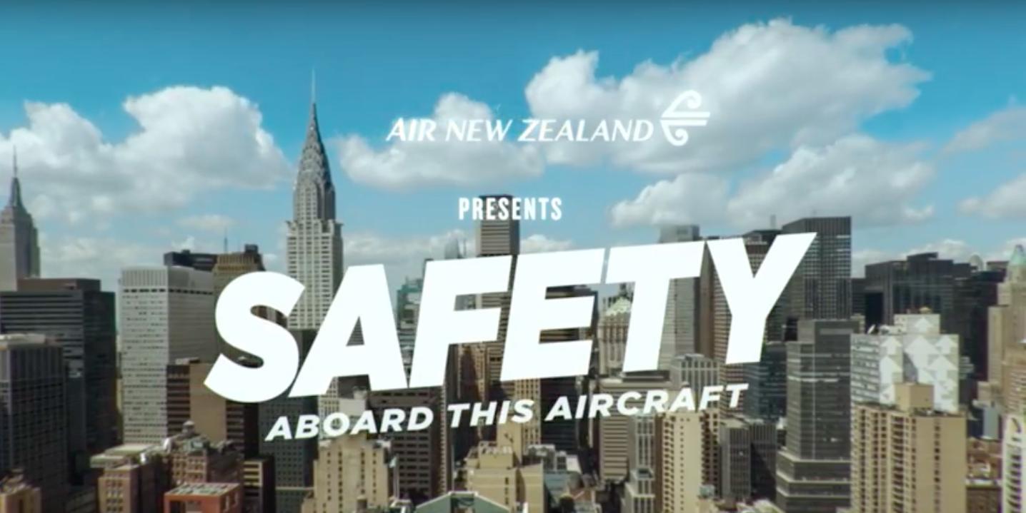 sicherheitsvideo air new ZEaland