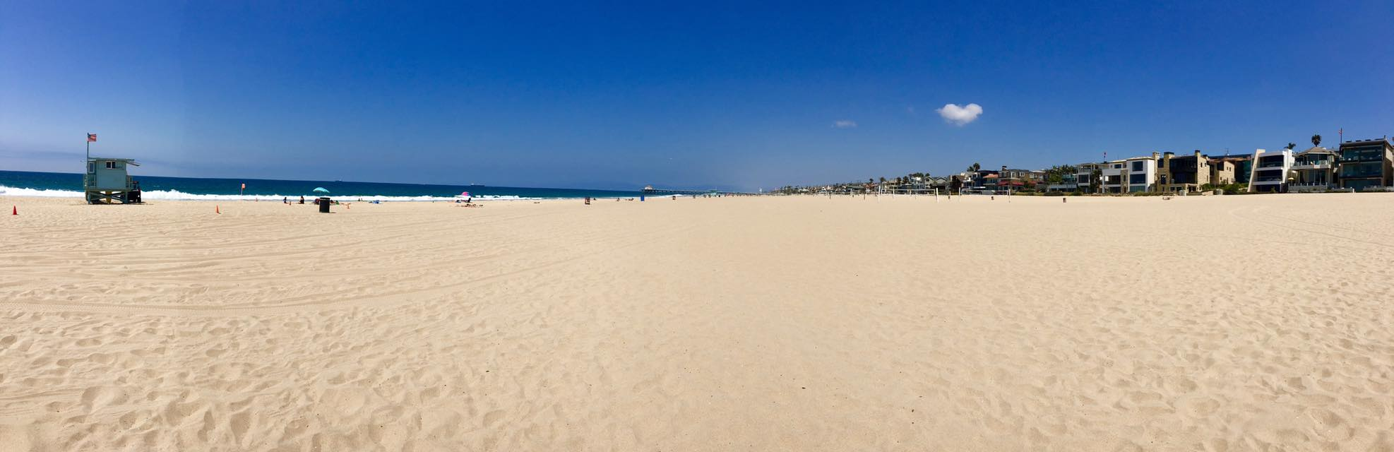strand in Los angeles luxusreise