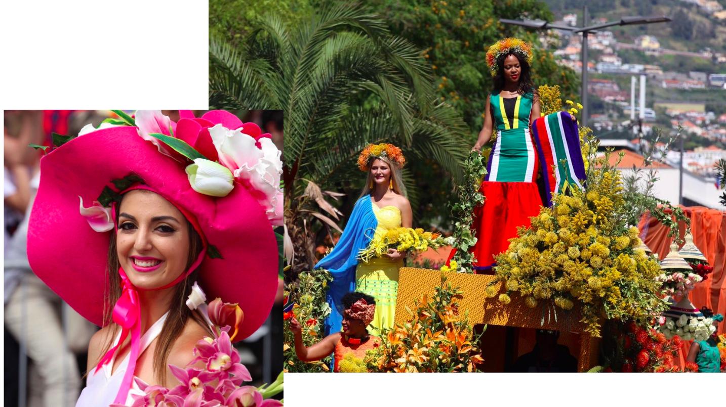 Blumenfest Madeira Festa de Flor