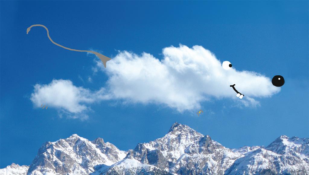 für Kinder: Winnifret die Wolkenmaus